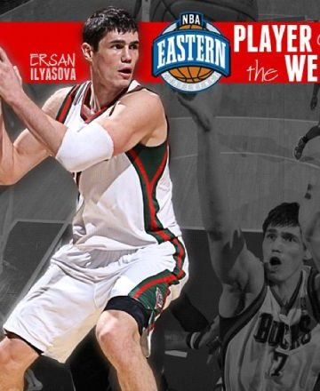 Ersan Ilyasova Named Player of the Week